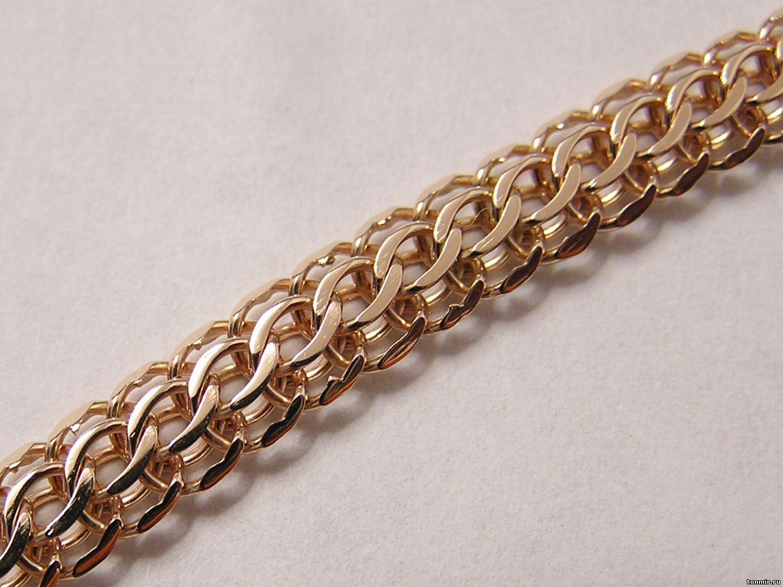 Золотые цепочки плетение кардинал фото 4